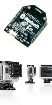 Bluetooth et Camera gopro